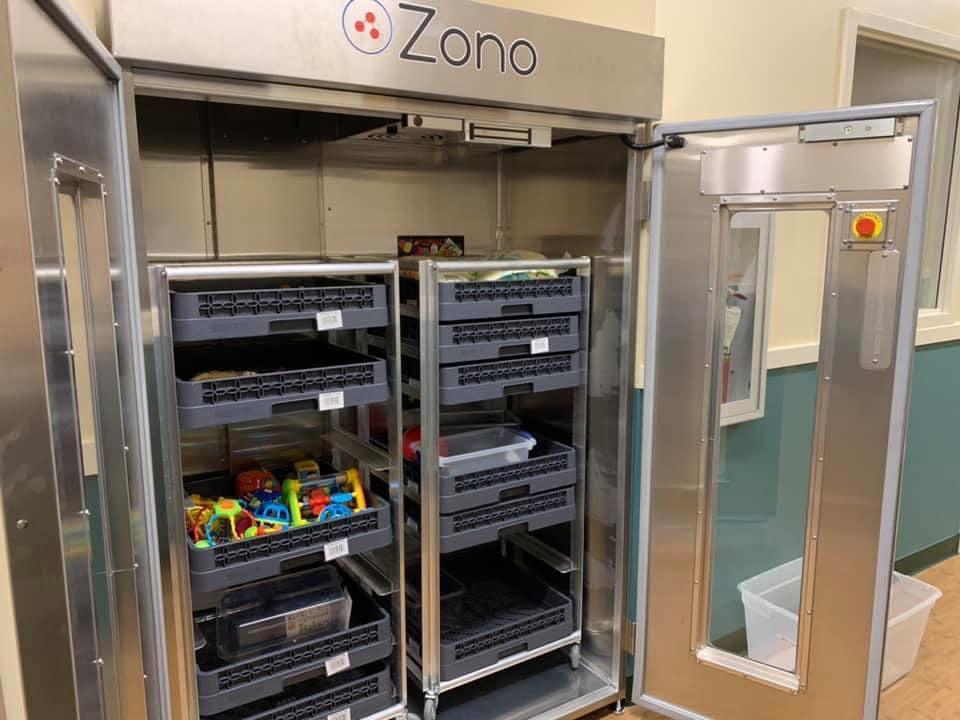 A Zono Cabinet Offers Hospital-Grade Sanitizing